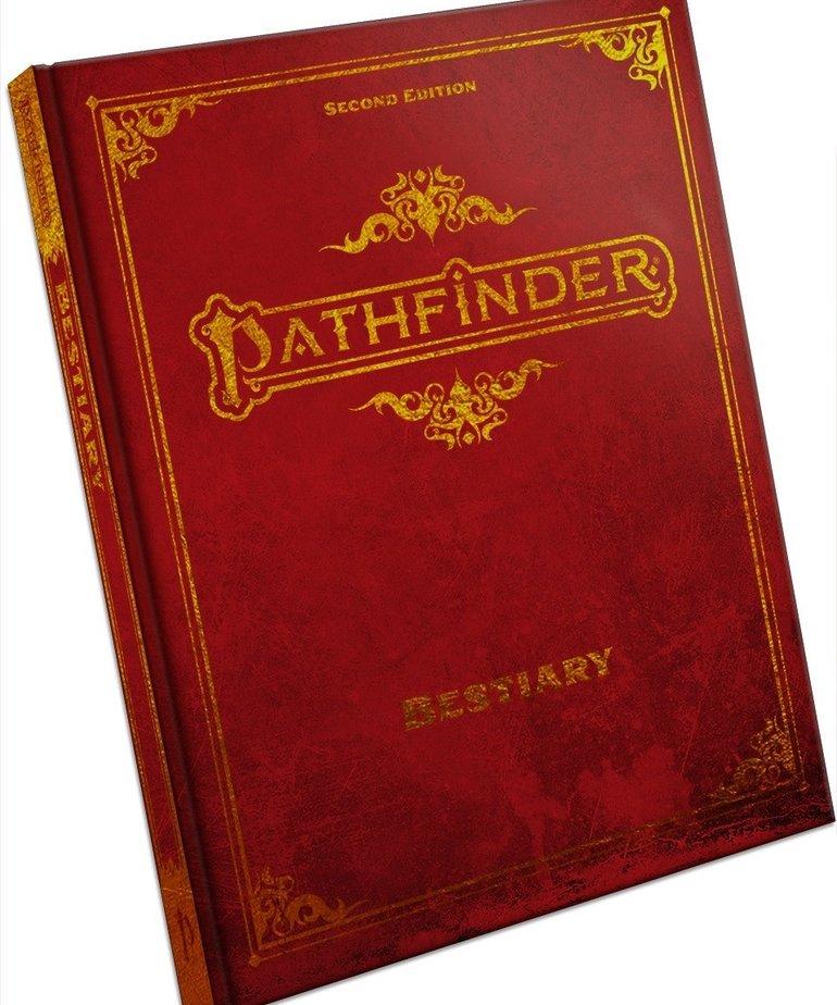 Paizo, Inc. - PZO Pathfinder 2E - Bestiary (Special Edition)