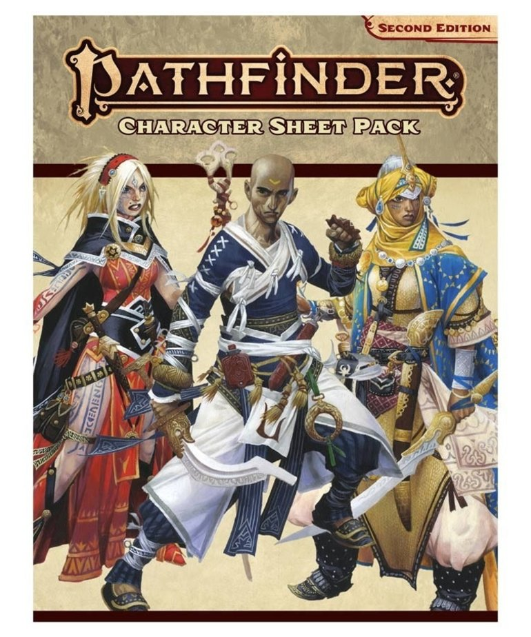 Paizo, Inc. - PZO Pathfinder 2E - Character Sheet Pack