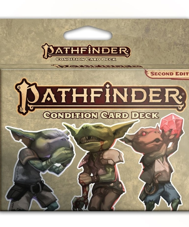 Paizo, Inc. - PZO Pathfinder 2E - Condition Card Deck