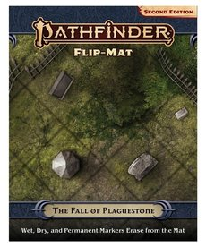 Paizo, Inc. - PZO Pathfinder 2E - Flip-Mat - The Fall of Plaguestone