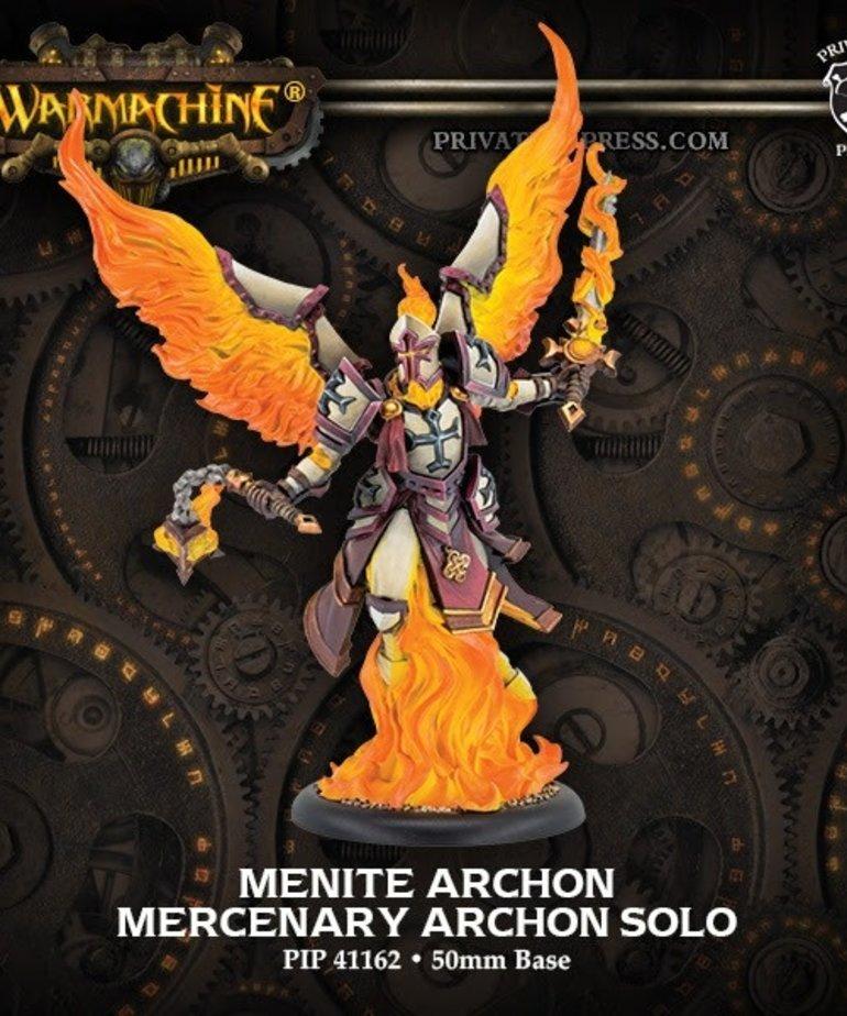 Privateer Press - PIP Warmachine - Mercenaries - Menite Archon - Solo