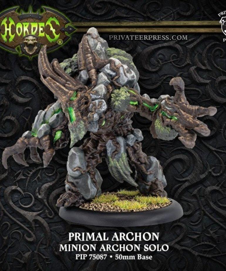 Privateer Press - PIP Hordes - Minions - Primal Archon - Solo