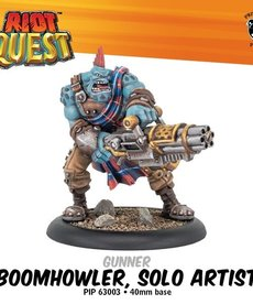 Privateer Press - PIP Riot Quest - Boomhowler, Solo Artist - Gunner