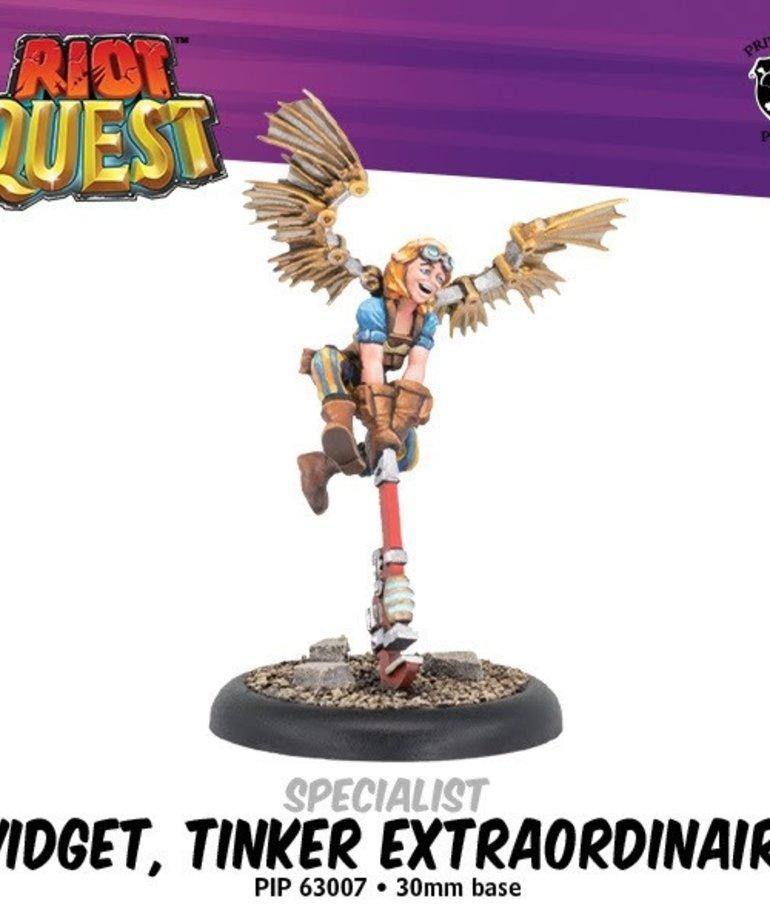 Privateer Press - PIP Riot Quest - Widget, Tinker Extraordinaire - Specialist