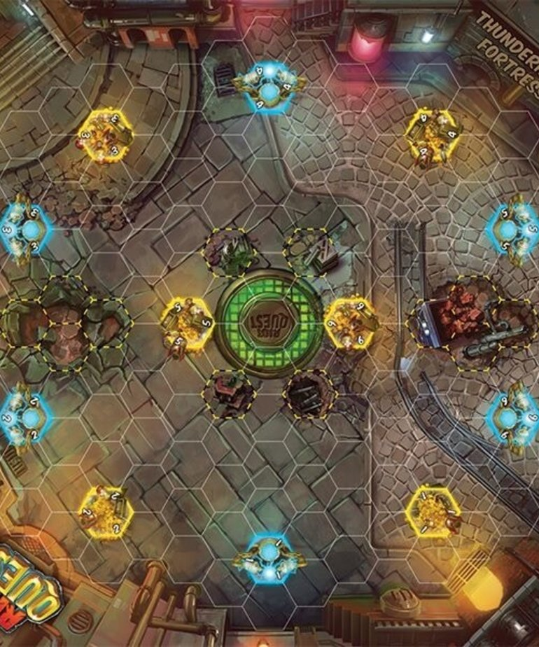 Privateer Press - PIP Riot Quest - Accessories - Thunderhead Fortress - Fabric Playmat (NO REBATE)