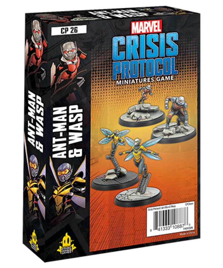 Atomic Mass Games - AMG Marvel: Crisis Protocol - Ant-Man & Wasp - Character Pack