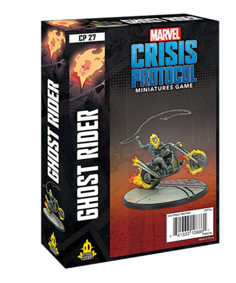 Asmodee - ASM Marvel: Crisis Protocol - Ghost Rider - Character Pack