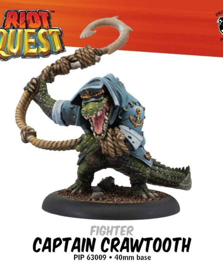 Privateer Press - PIP Riot Quest - Captain Crawtooth - Fighter