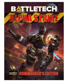 Catalyst Game Labs - CYT Battletech - Alpha Strike: Commander's Edition