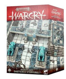 Games Workshop - GAW Warhammer Age of Sigmar: Warcry - Ravaged Lands - Shattered Stormvault