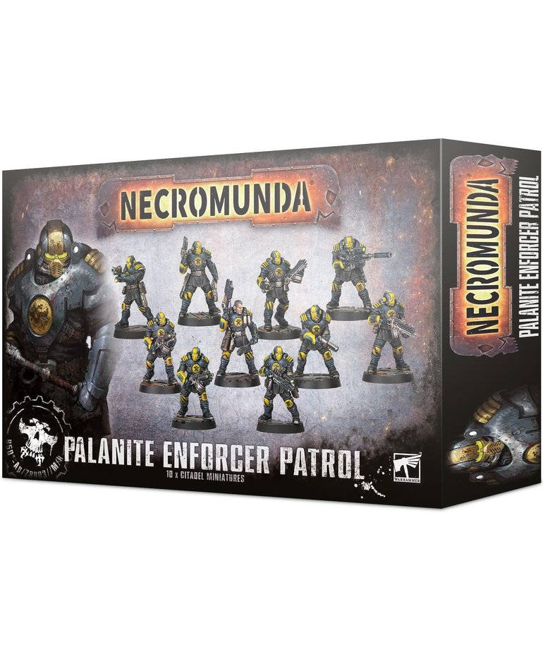 Games Workshop - GAW Necromunda - Palanite Enforcer Patrol