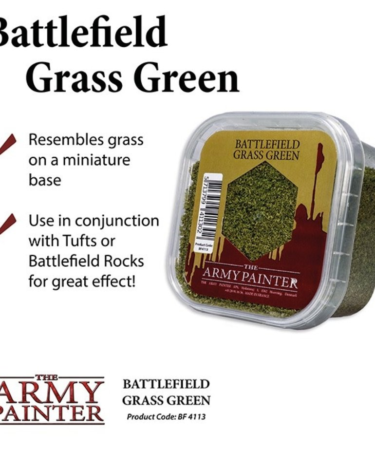 The Army Painter - AMY The Army Painter: Basing - Battlefield Grass Green