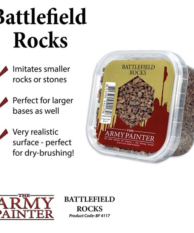The Army Painter - AMY The Army Painter: Basing - Battlefield Rocks