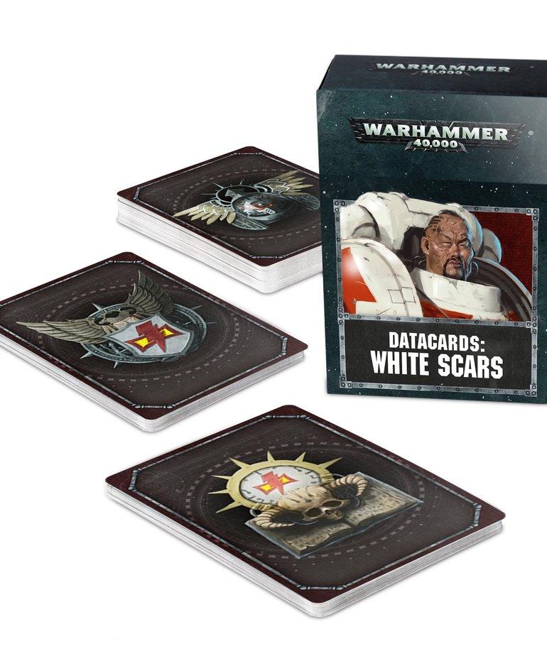 Games Workshop - GAW Warhammer 40K - Datacards: White Scars