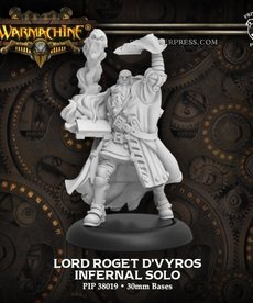 Privateer Press - PIP Warmachine - Infernals - Lord Roget d'Vyros - Character Solo