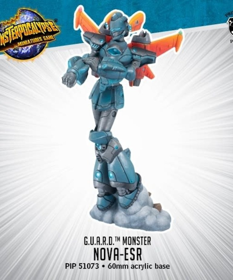 Privateer Press - PIP Monsterpocalypse - G.U.A.R.D. - Nova ESR - Monster
