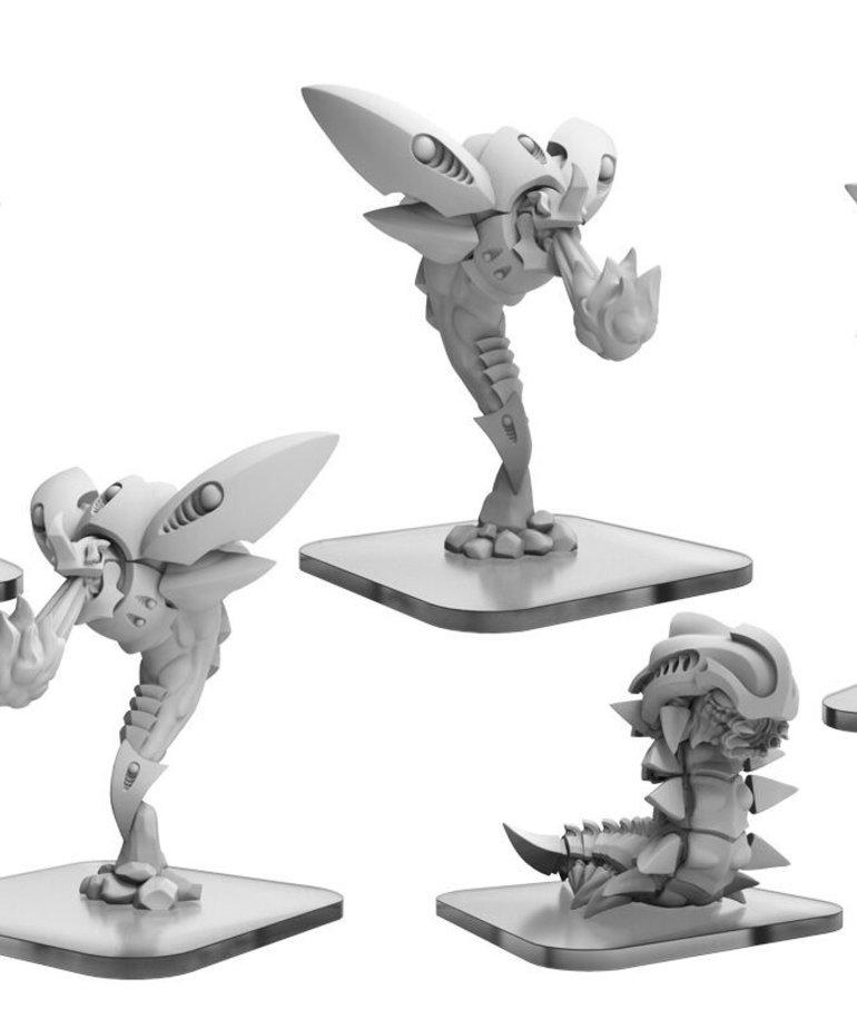 Privateer Press - PIP Monsterpocalypse - Planet Eaters - Scorchers & Exterminatrix - Unit Expansion 3