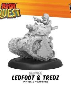 Privateer Press - PIP Riot Quest - Ledfoot & Tredz - Gunner