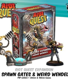 Privateer Press - PIP Riot Quest - Spawn Gates & Weird Wendell, Gremlin Wrangler - Expansion