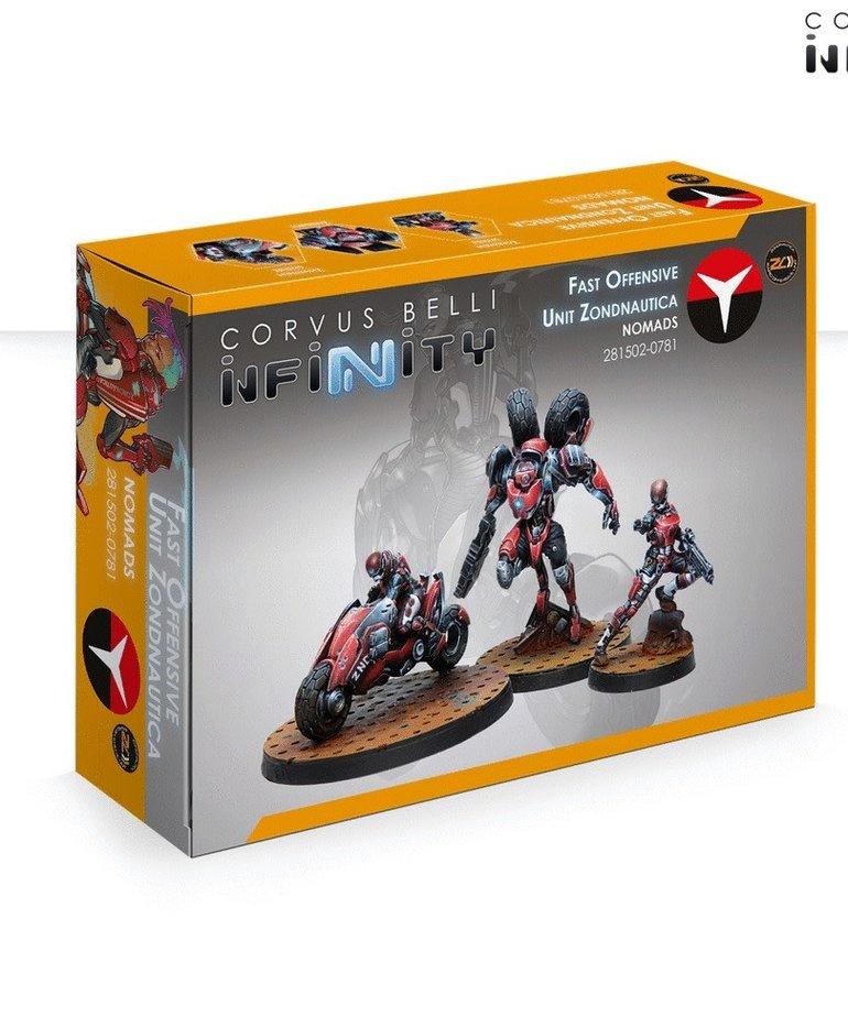 Corvus Belli - CVB Infinity - Nomads - Fast Offensive Unit  Zondnautica