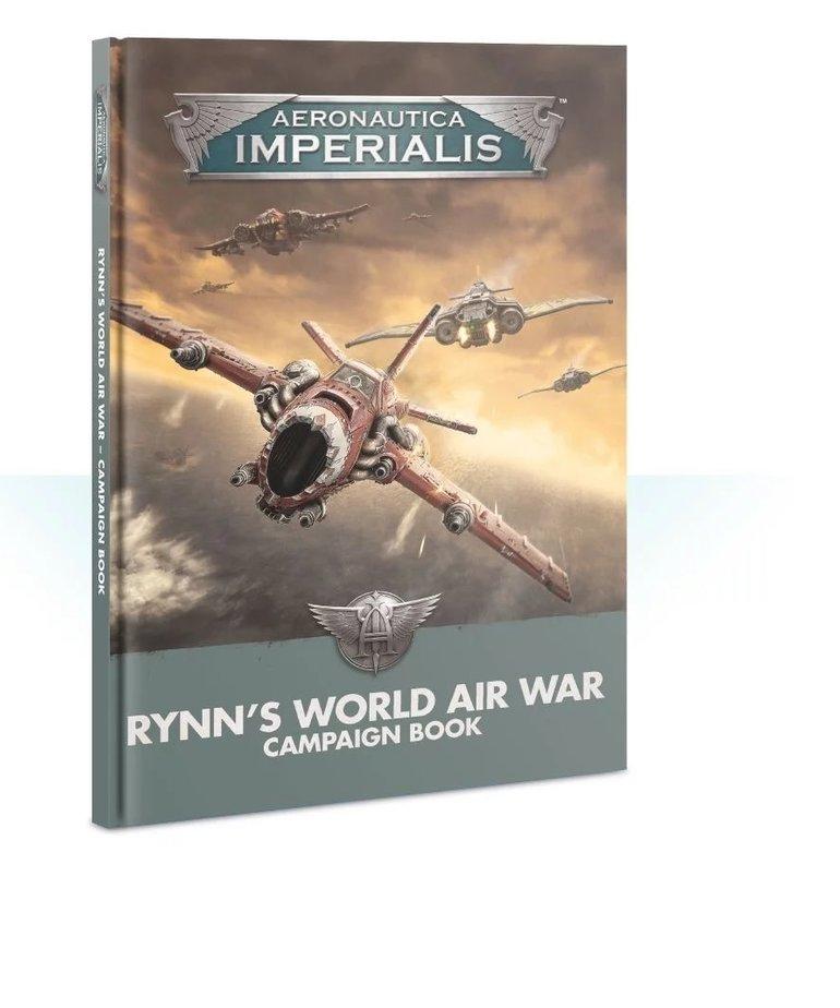 Games Workshop - GAW Aeronautica Imperialis - Rynn's World Air War - Campaign Book