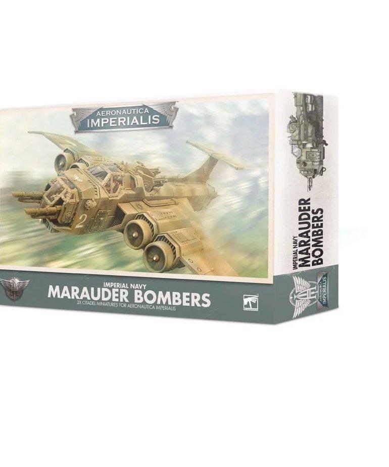 Games Workshop - GAW Aeronautica Imperialis - Imperial Navy - Marauder Bombers