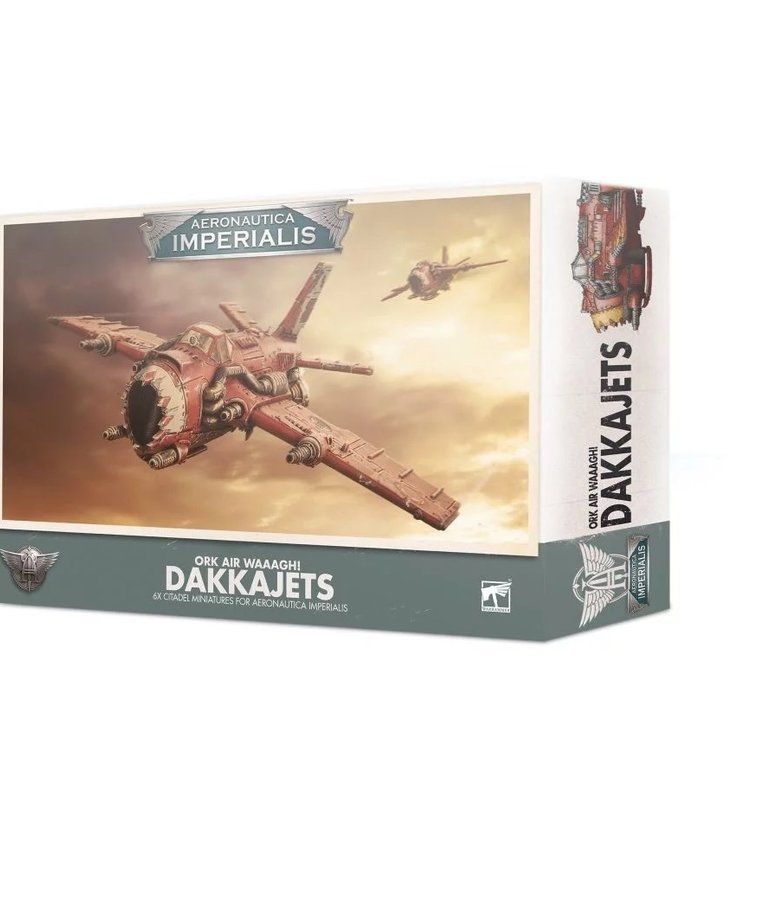Games Workshop - GAW Aeronautica Imperialis - Ork Air Waaagh! - Dakkajets