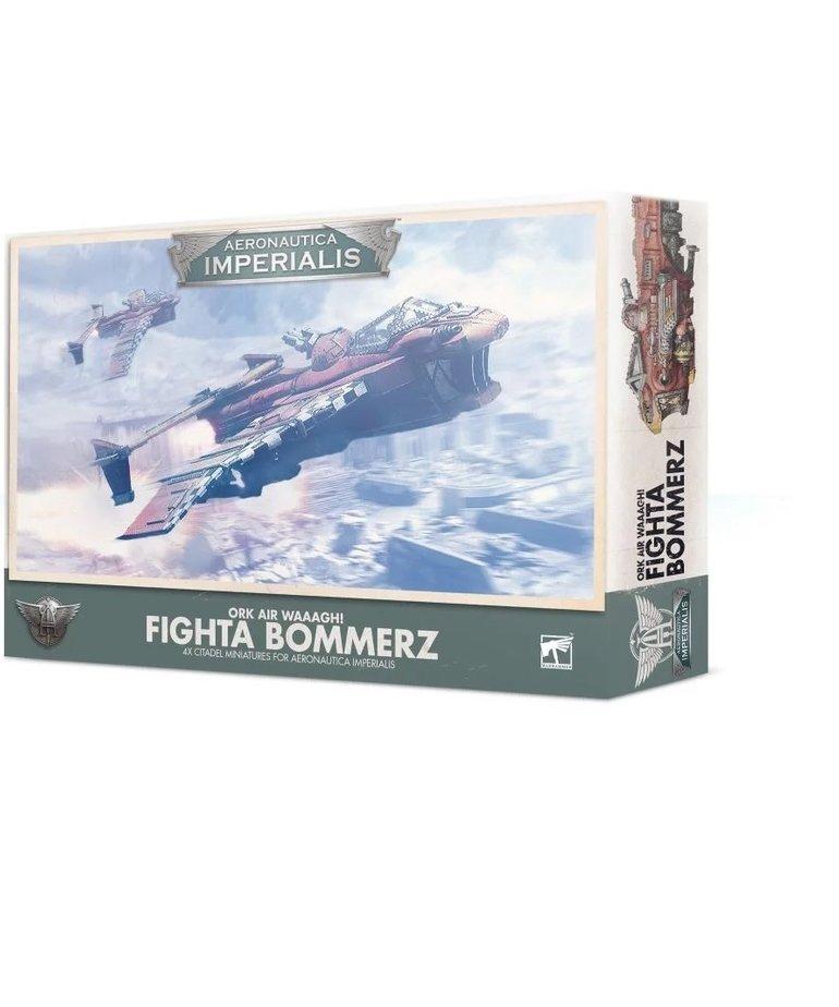 Games Workshop - GAW Aeronautica Imperialis - Ork Air Waaagh! - Fighta Bommerz