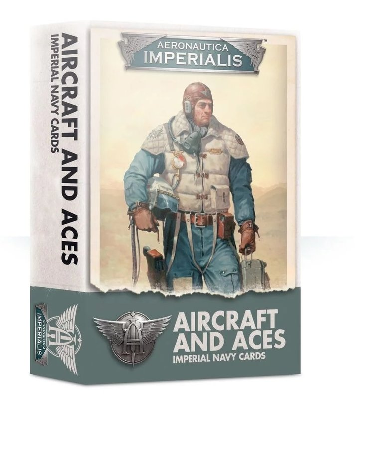 Games Workshop - GAW Aeronautica Imperialis - Aircraft & Aces: Imperial Navy Cards