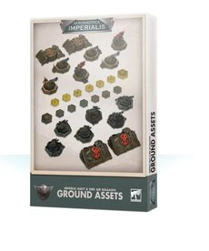 Games Workshop - GAW Aeronautica Imperialis - Imperial Navy & Ork Air Waaagh! - Ground Assets and Objectives