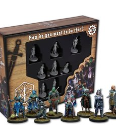 Steamforged Games LTD - STE D&D 5E: Critical Role - Mighty Nein