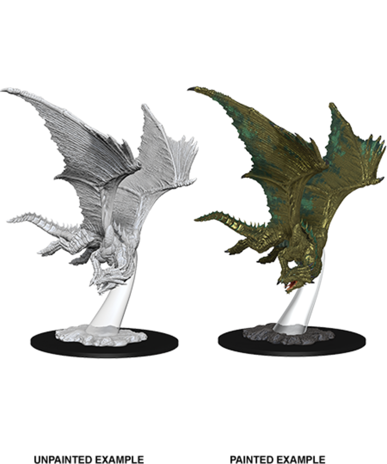 WizKids - WZK D&D: Nolzur's Marvelous Miniatures - Young Bronze Dragon