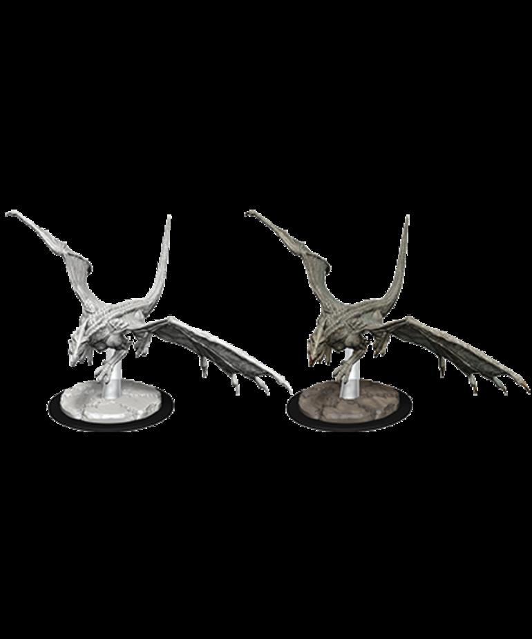 WizKids - WZK D&D: Nolzur's Marvelous Miniatures - Young White Dragon