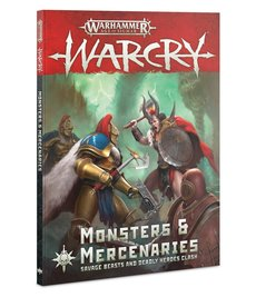 Games Workshop - GAW Warhammer Age of Sigmar: Warcry - Monsters & Mercenaries - Expansion