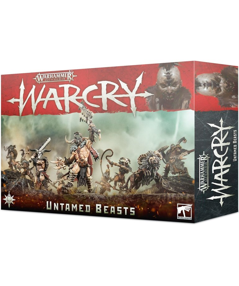 Games Workshop - GAW Warhammer Age of Sigmar: Warcry - Untamed Beasts - Warband