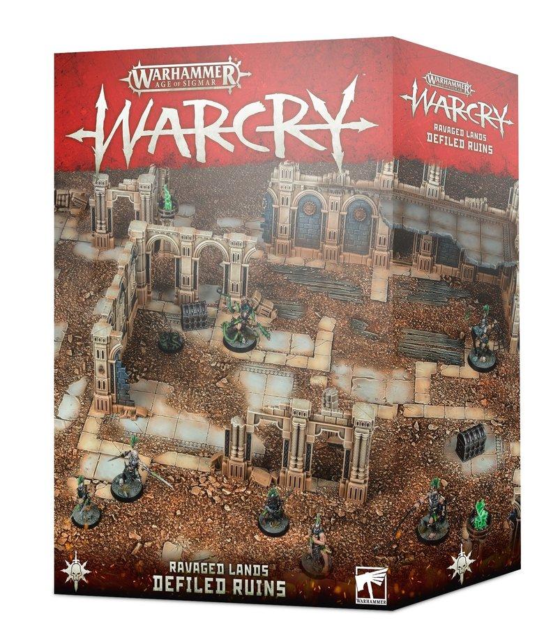Games Workshop - GAW Warhammer Age of Sigmar: Warcry - Ravaged Lands - Defiled Ruins