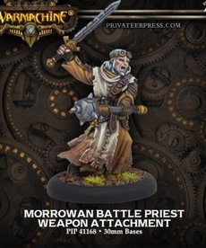 Privateer Press - PIP Warmachine - Mercenaries - Morrowan Battle Priest - Order of Illumination Weapon Attachment