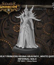 Privateer Press - PIP Great Princess Regna Gravnoy, White Queen (Regna 1)