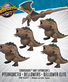 Privateer Press - PIP Monsterpocalypse - Terrasaurs - Bellowers & Pteradactix - Unit Expansion 3