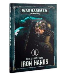Games Workshop - GAW Warhammer 40K - Codex Supplement: Iron Hands