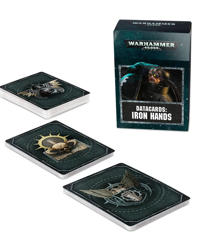 Games Workshop - GAW Warhammer 40K - Datacards: Iron Hands