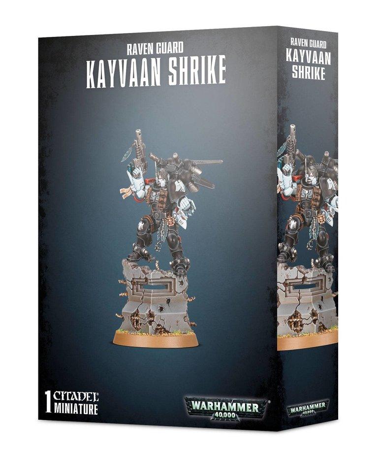 Games Workshop - GAW Warhammer 40K - Raven Guard - Kayvaan Shrike