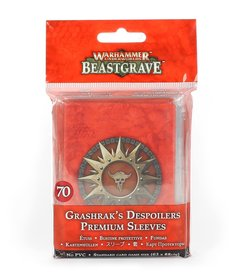 Games Workshop - GAW Warhammer Underworlds: Beastgrave - Grashrak's Despoilers - Premium Sleeves