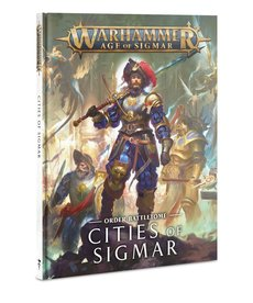 Games Workshop - GAW Warhammer Age of Sigmar - Order Battletome: Cities of Sigmar