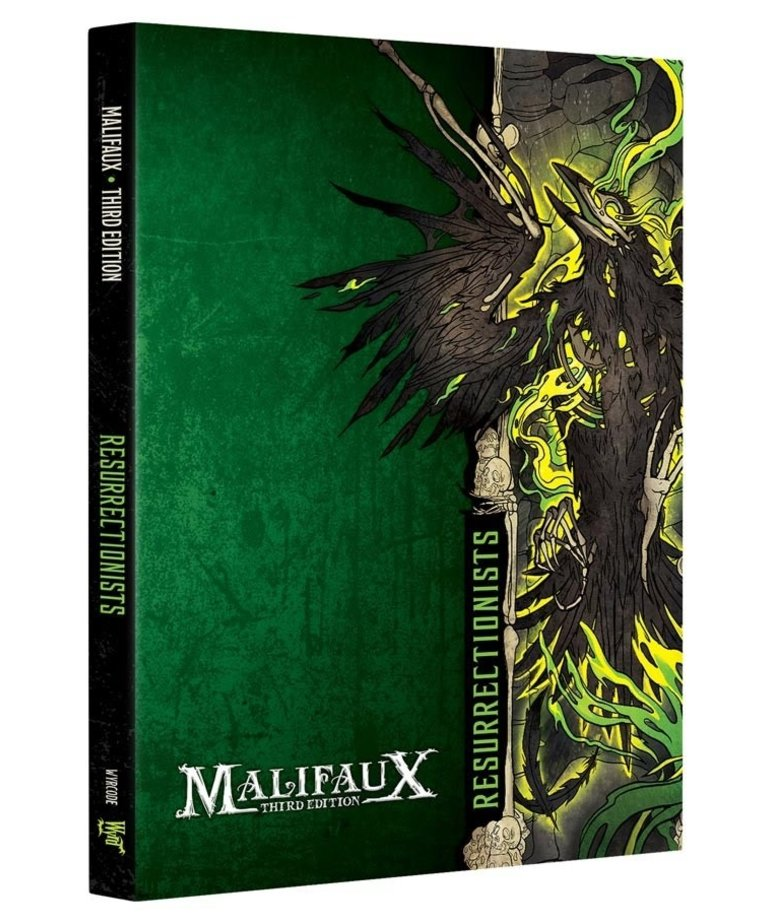 Wyrd Miniatures - WYR Malifaux 3E - Resurrectionists - Faction Book