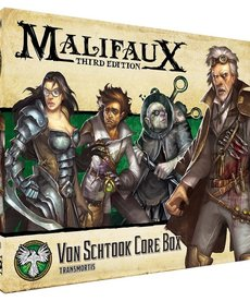 Wyrd Miniatures - WYR Malifaux 3E - Resurrectionists - Von Schtook Core Box