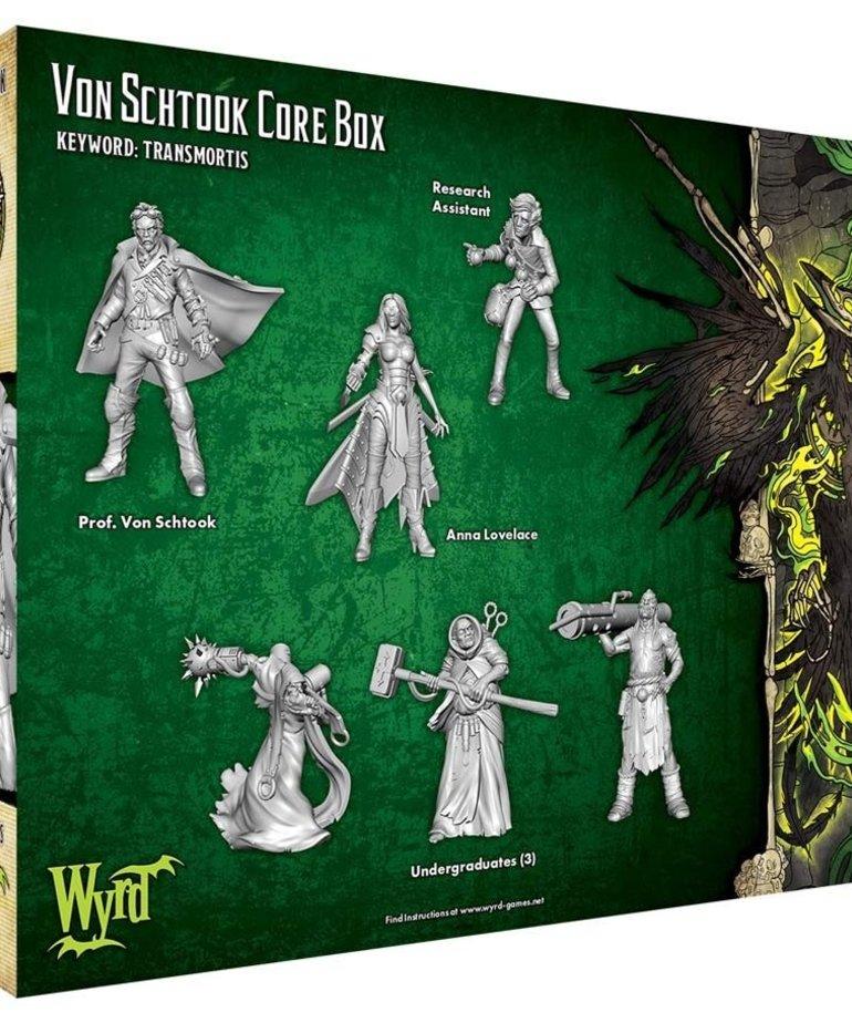 Wyrd Miniatures - WYR Malifaux 3E - Resurrectionists - Von Schtook Core Box