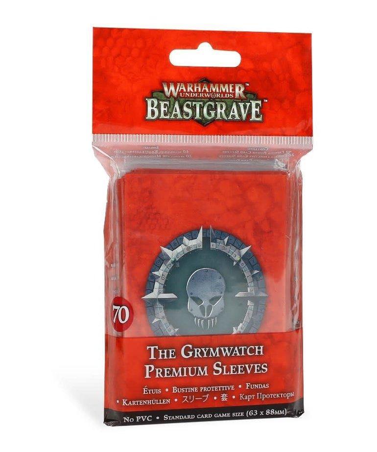 Games Workshop - GAW Warhammer Underworlds: Beastgrave - The Grymwatch - Premium Sleeves