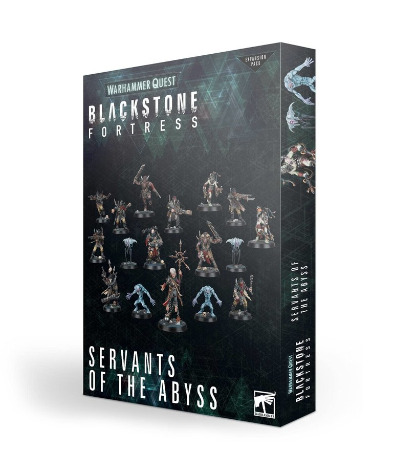 Games Workshop - GAW Warhammer Quest: Blackstone Fortress - Servants of the Abyss - Expansion Pack