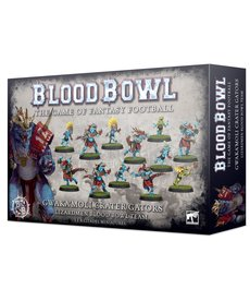 Games Workshop - GAW Blood Bowl - Lizardmen Team - Gwaka'moli Crater Gators